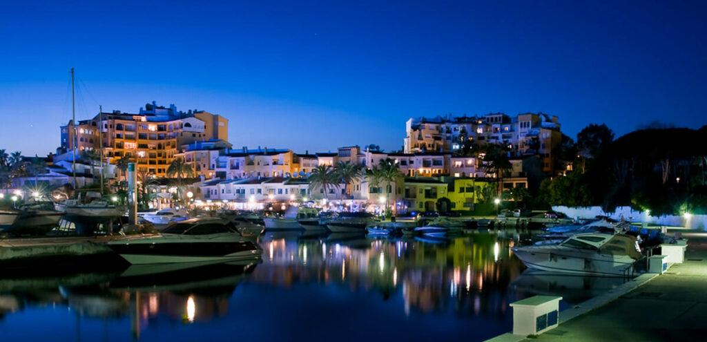 Cabopino harbor Marbella