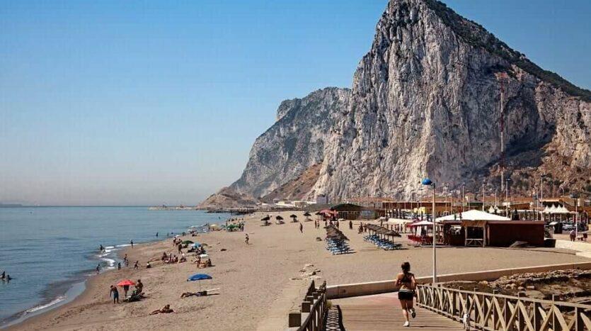 Gibraltar beach 1