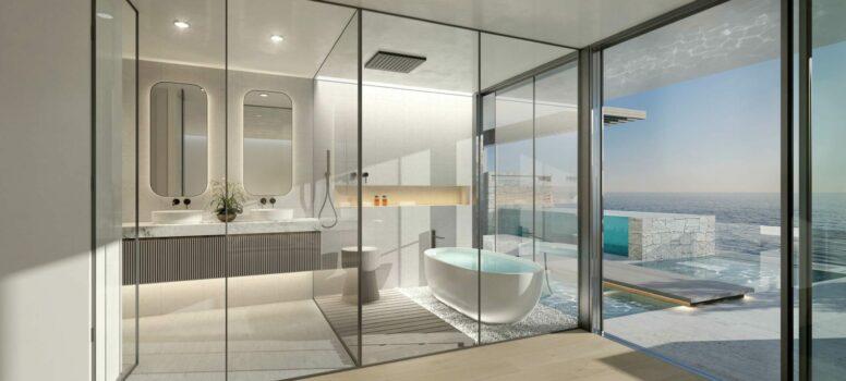 MASTER BATHROOM.Ikkil Bay