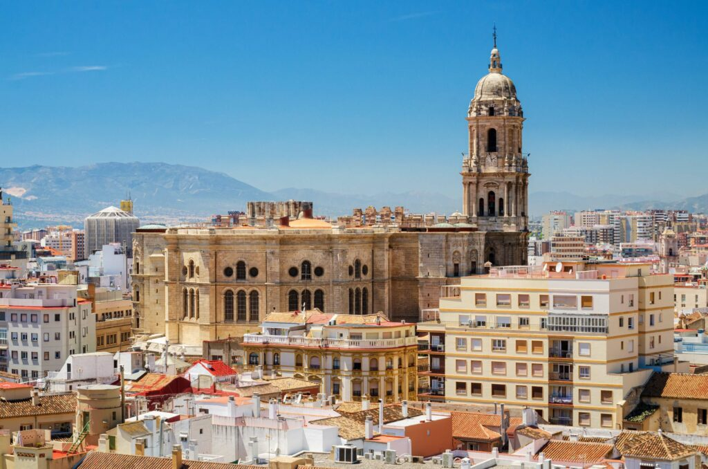 Malaga center