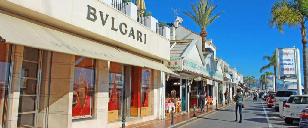 Puerto Banus boutiques