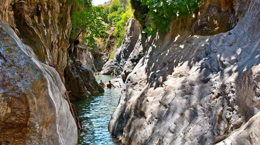 Ruta Angosturas Rio Guadalmina Benhavis