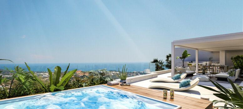 Grand View - Te koop Marbella met zeezicht